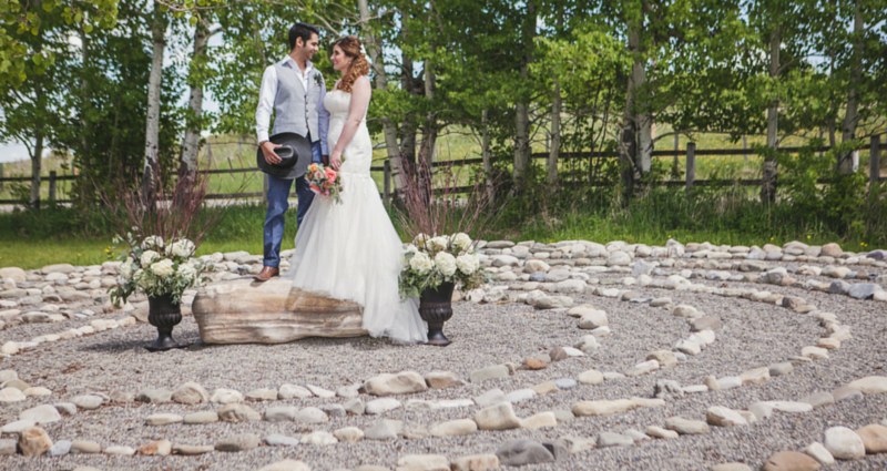 Rustic wedding : outdoor wedding photography